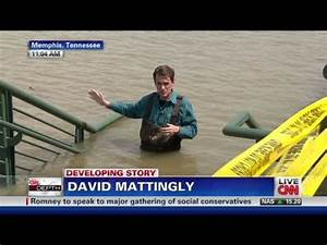 CNN: Reporter waist deep in Mississippi River - YouTube