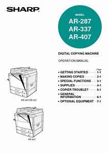 Ar-407 Manuals