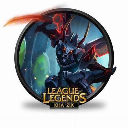 Mecha Icon Zix Khazix Kha League Legends