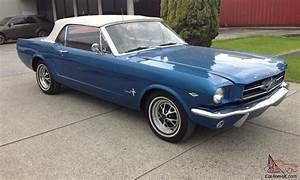 Ford Mustang 1964 : ford mustang convertible rare 1964 5 same shape as 1965 1966 factory 260 v8 ~ Medecine-chirurgie-esthetiques.com Avis de Voitures