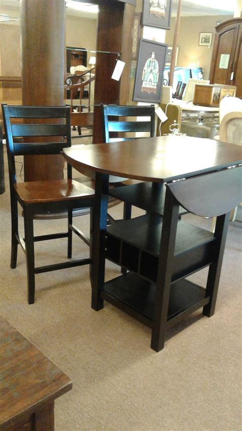 drop leaf pub table w 2 chairs delmarva furniture