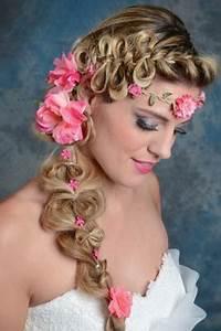 Coiffure Femme Pour Mariage : coiffure avec tresse pour mariage ~ Dode.kayakingforconservation.com Idées de Décoration