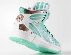 adidas D Rose 6 Green Copper Christmas - Sneaker Bar Detroit