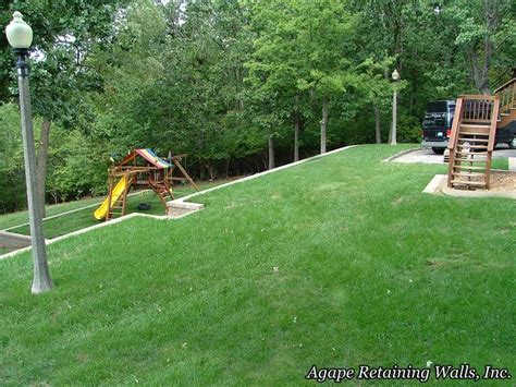 Leveling A Sloped Backyard best 25 leveling yard ideas on lawn repair