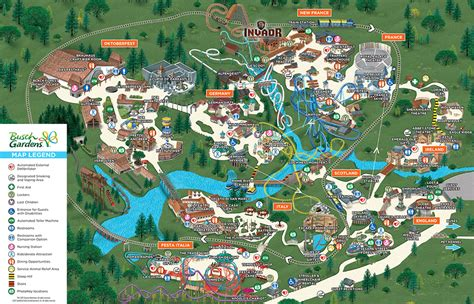 park map busch gardens williamsburg