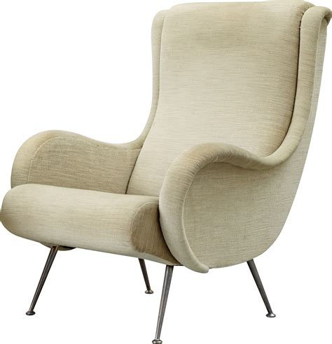 chaise transparent white armchair png image