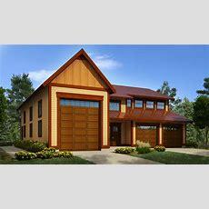 Workshop With Rv Garage  9838sw  Architectural Designs
