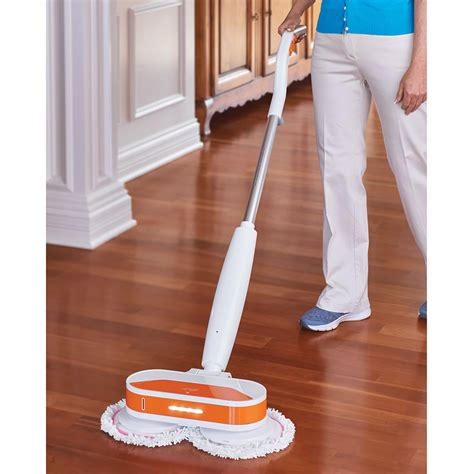 Hardwood Floor Polisher Canada by The Cordless Power Mop And Floor Polisher Hammacher