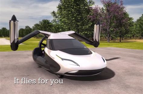 terrafugia tf  flying car revealed autocar