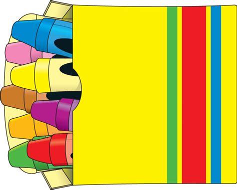 Color Crayons Clip Art Free