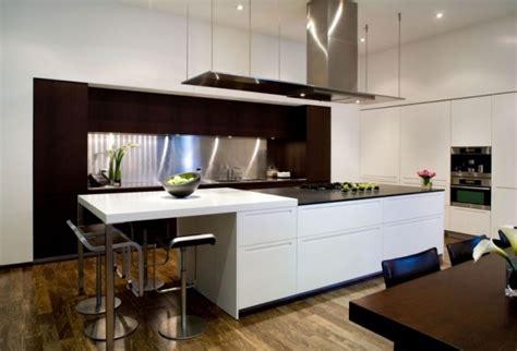 küchen modern mit kochinsel wei 223 schwarz einbauk 252 che modern kochinsel bartheke