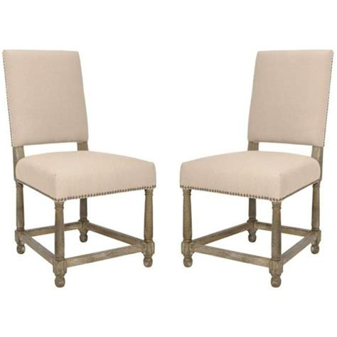 restoration hardware empire parsons upholstered side chair