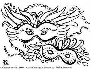 Free Mardi Gras Coloring Pages - Coloring Home