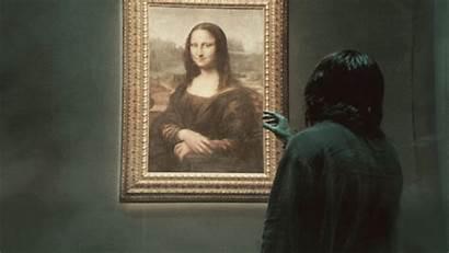 Mona Lisa Leonardo Gifs Vinci Da Gfycat