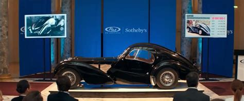 1937 Bugatti Type 57 S Atlantic Replica In