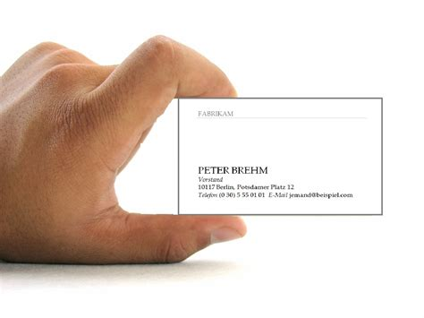 word visitenkarten erstellen office lernencom