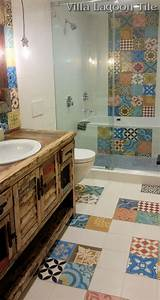 best 25 cement tiles bathroom ideas on pinterest cement With what kind of paint to use on kitchen cabinets for create bumper stickers