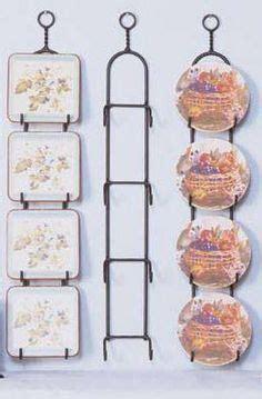 regal decorative plate display rack easyhometipsorg