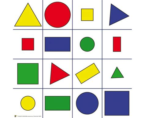 Bild Geometrische Formen by Bee Bot Bodenmatte Mit Geometrischen Formen Betzold De