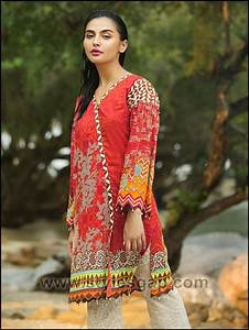 Summer Fashion Lawn Kurti Designs Trends Latest Collection 2018 2019