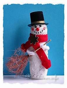 Schneemann Basteln Styropor : basteln mit kindern weihnachten weihnachtsbasteleien ~ Lizthompson.info Haus und Dekorationen