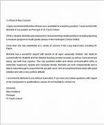 Letter Of Recommendation For Teaching Position Sample 13 Letters Of Recommendation For Teacher Sample Templates