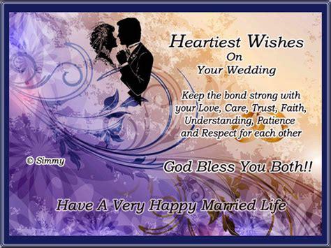heartiest wishes   wedding  wedding  ecards