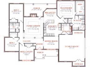 floor house plans house 7728 blueprint details floor plans