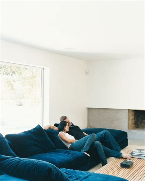 small sectional couches floor level sofas are our favorite design trend