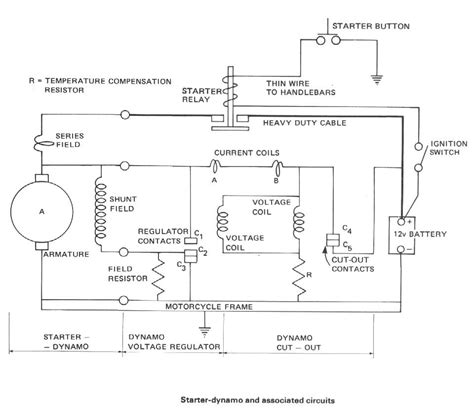 starter generator wiring diagram electric start generator wiring diagram get free image