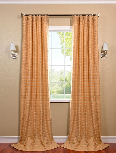 beige and gold casual cotton curtain contemporary