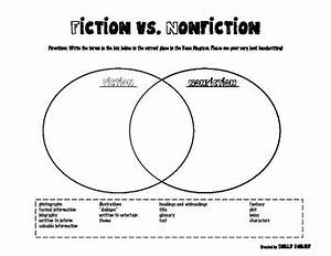 Fiction Vs  Nonfiction Venn Diagram Worksheet By Holly