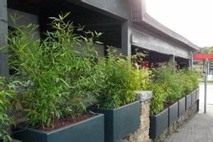 Bambou En Pot Pour Terrasse : bacs pour plantes exterieur ~ Louise-bijoux.com Idées de Décoration