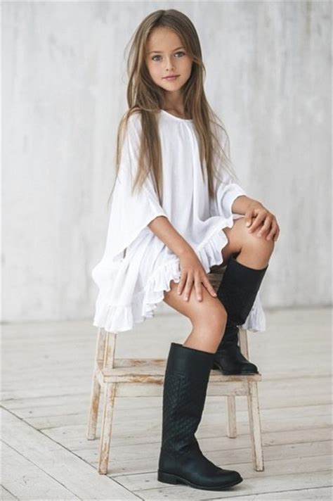Meet 9-Year-Old Model Kristina Pimenova