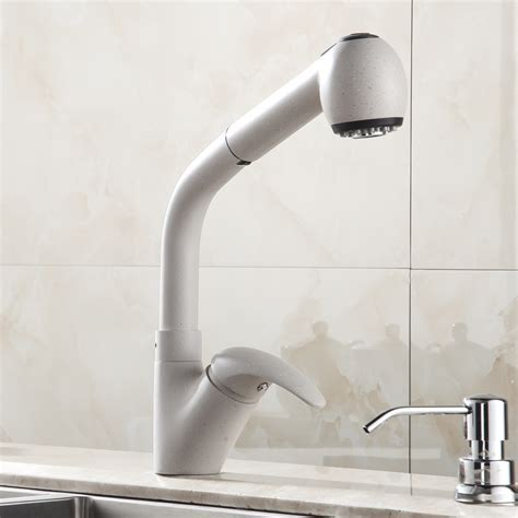 Buy Angeline Deck Mount, Pull Out Kitchen Faucet Online