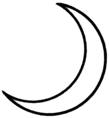 moon clipart black and white moon clipart transparent clipartix