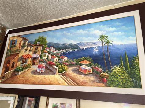 achat canape tableau peinture à l 39 huile meubles et décoration tunisie