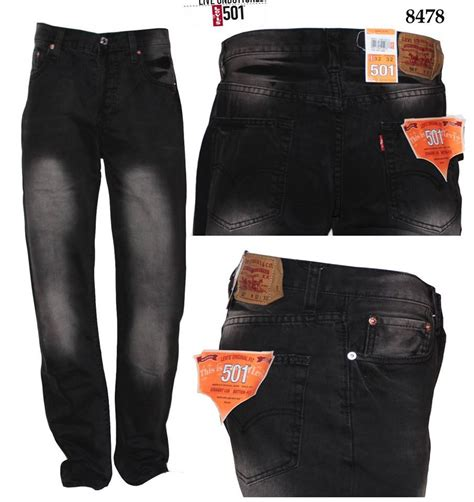 Harga Celana Merk Levis 501 jual celana levis 501 black wash import philipina butik