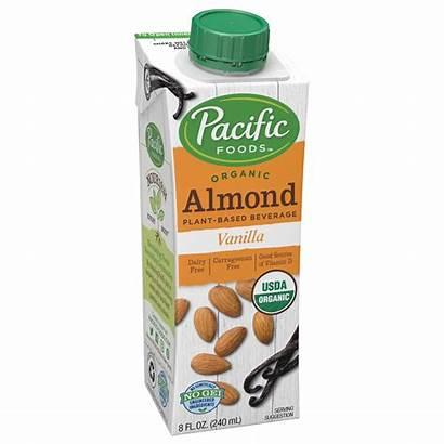 Almond Vanilla Pacific Organic Based Plant Beverages