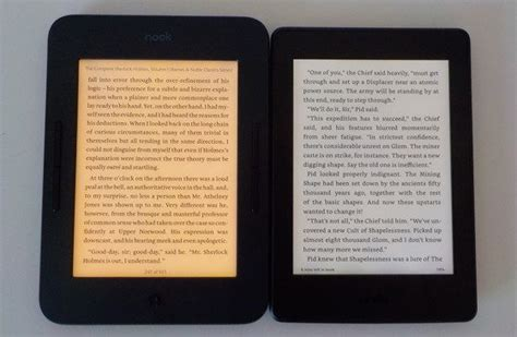 Nook Glowlight 3 Vs Kindle Paperwhite 3 Comparison (video