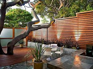 The Images Collection of Modern wood deck ideas landscape ...