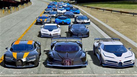 Please subscribe to the channel here: Bugatti Black Devil VGT vs Bugatti Hypercars - Drag Race 20 KM - YouTube