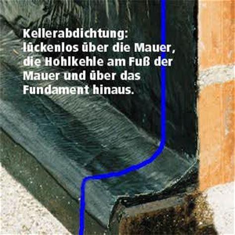 Die Richtige Abdichtung An Der Richtigen Stelle by Baupraxis De Tipp Keller Abdichtung Gegen Feuchtigkeit