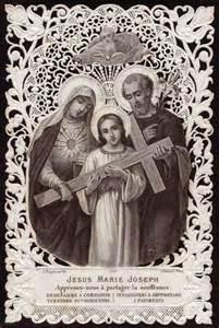 Holy Family Jesus Mary and Joseph