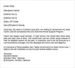 Free Recommendation Letter Template