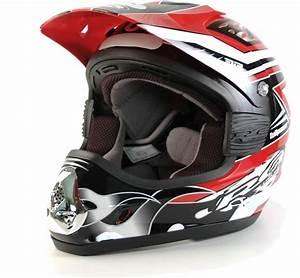 Equipement Moto Cross Destockage : destockage casque moto cross rc fullpower rouge noir ~ Dailycaller-alerts.com Idées de Décoration
