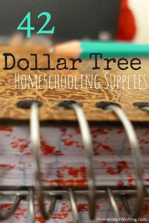 dollar tree homeschool supplies list frugal
