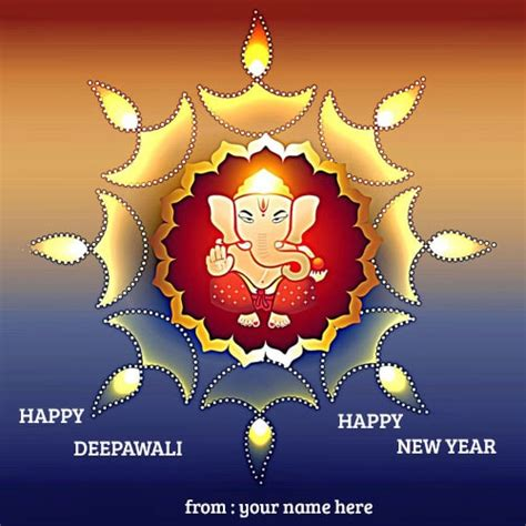 happy diwali happy  year greeting cards