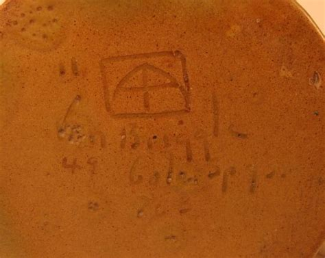Briggle Pottery Ls by Artusvanbriggle The History Of Briggle Marks