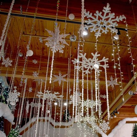 christmas ceiling decorations ideas  pinterest